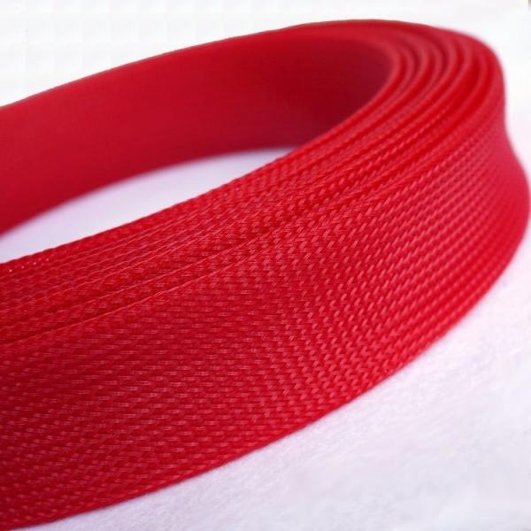 Mesh 3 mm PET Cablu Rosu 0