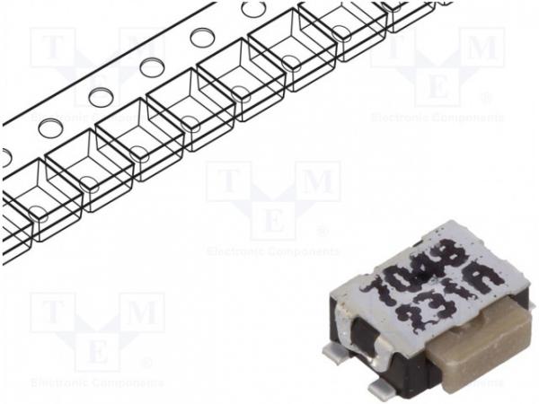Microîntrerupător TACT SPST-NO 2 Poziţii  0,05A 32VDC SMT 0