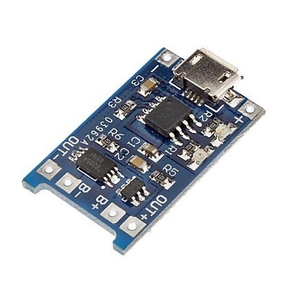 Modul incarcare tp4056 cu protectie Micro usb 0