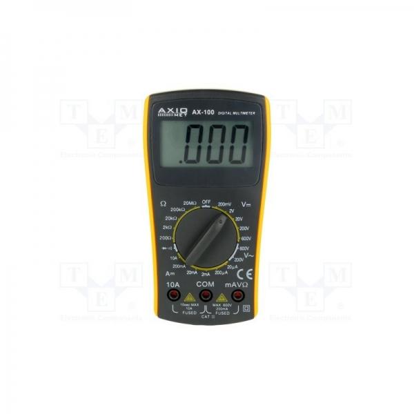 Multimetru AXIOMET AX-100 0