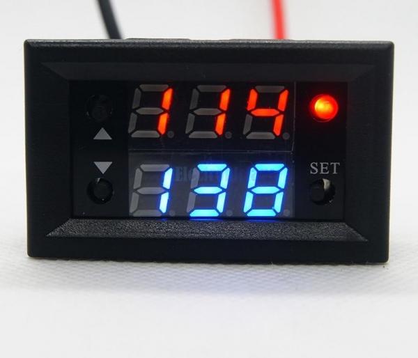 Releu de timp timer temporizator regabil 12V 0