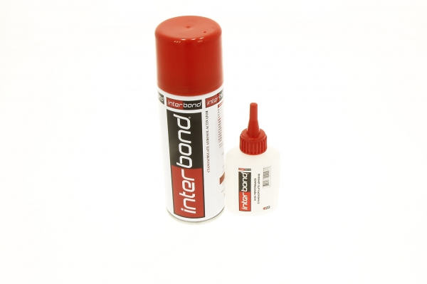 Set adeziv rapid/activator spray 7001 50gr+200ml Interbond 0