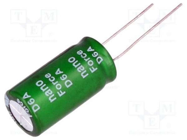 Supercondensator 10F THT 2.7V 0
