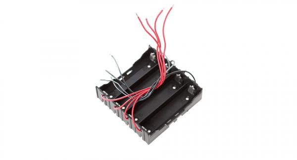 Suport baterie 4x18650 Li-ion 0