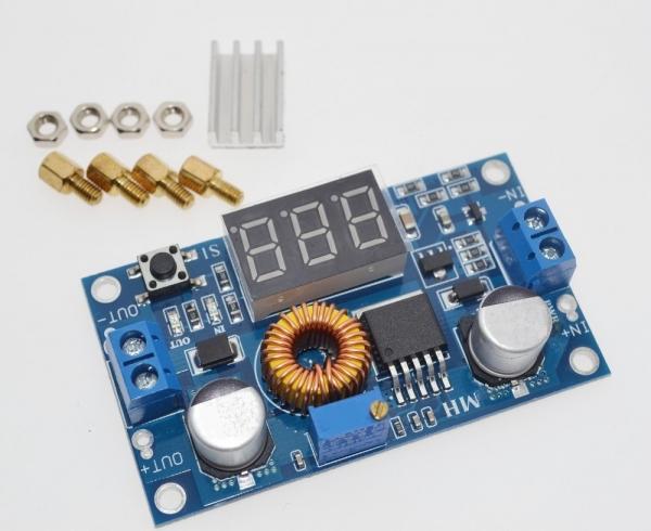 Sursa reglabila step down XL4015 LED 5A [0]