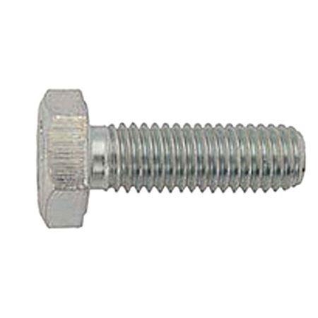 Surub M5x16mm hexagonal zinc 0