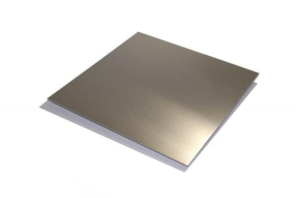 Tabla aluminiu T 6082 340x340x4 mm taiere CNC 0