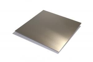 Tabla aluminiu T 6082 125x80x6 mm 0