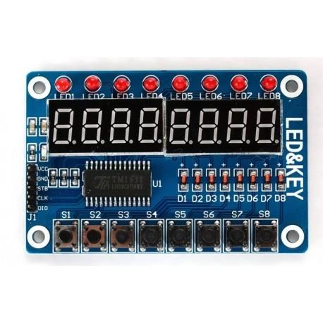 TM1638 Keypad Module 0