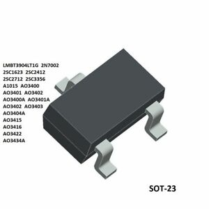 Tranzistor NPN 65V SOT23 unipolar 0.1A 0