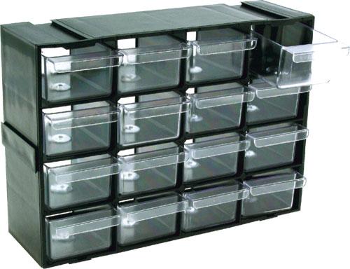 Organizator cu 16 sertare din plastic 0