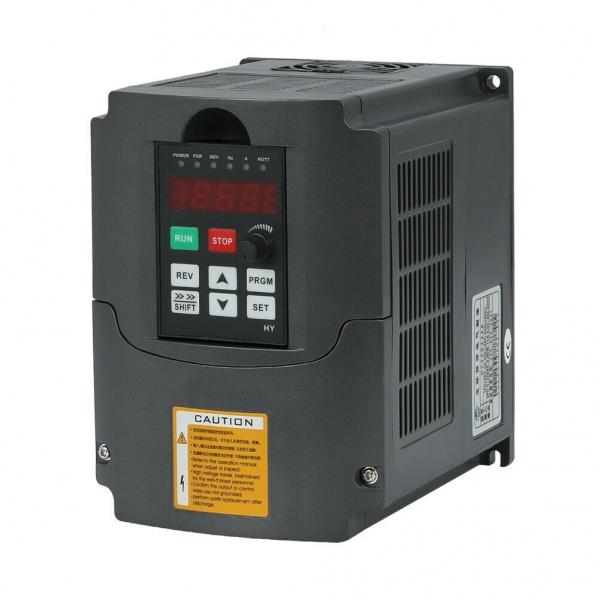 VFD 220V 380V 1.5/2.2/3/4/5.5/7.5KW 2