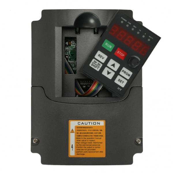 VFD 220V 380V 1.5/2.2/3/4/5.5/7.5KW 3