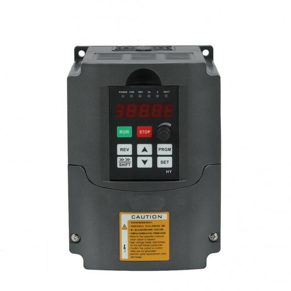 VFD 220V 380V 1.5/2.2/3/4/5.5/7.5KW 1