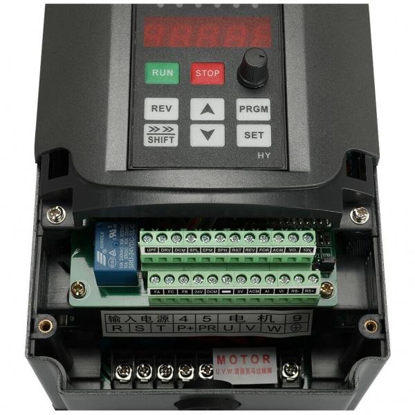 VFD 220V 380V 1.5/2.2/3/4/5.5/7.5KW 4