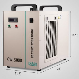 CW5000 Chiller Industrial Racitor1