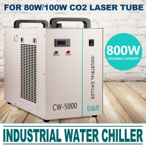 CW5000 Chiller Industrial Racitor0