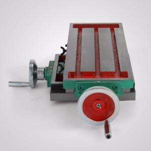 Masa reglabila in 2 axe de precize pentru frezat sau routat manual cu 2 axe 210x110 mm0