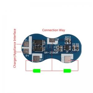 Modul echilibrare si protectie la incarcare 2S baterii Li-Ion 5A1