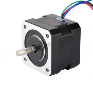 Motor stepper Nema 17 Bipolar 1.8deg 45Ncm (63oz.in) 1.5A 12V 42x42x39mm 4 Wires0