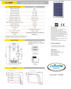 Panou Solar 251X140X17mm 3W 18.2V  fotovoltaic siliciu policristalin [2]