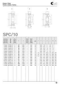 Roata de curea SPA 063/2 BC100830