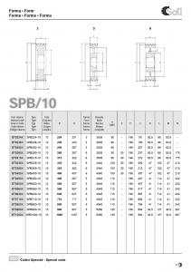 Roata de curea SPA 063/2 BC100824