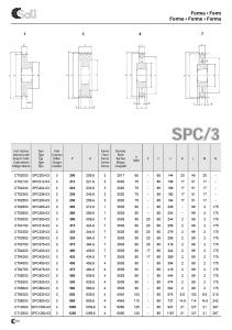 Roata de curea SPA 063/2 BC100825