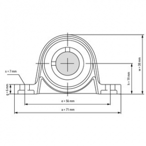 Rulment  KP 001 12 mm1