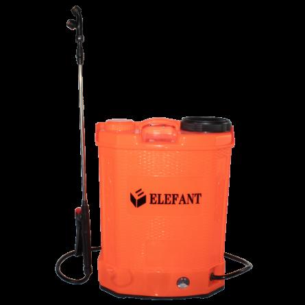 Stropitoarea electrica Elefant, 16 L, cu acumulator , 6 bari , regulator lance 85cm, 3 duze [0]
