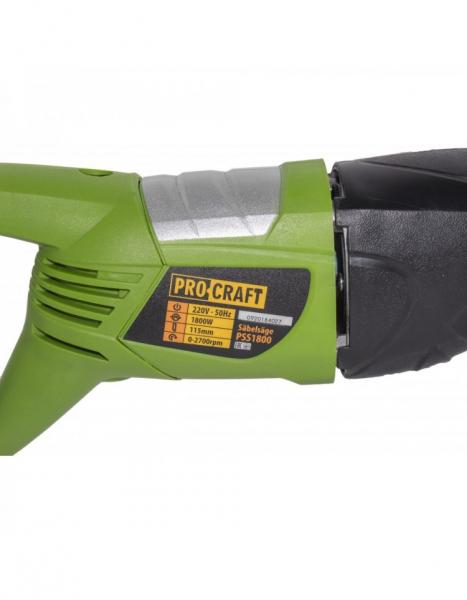 Fierastrau tip sabie Procraft PSS1800, 1800 W [1]