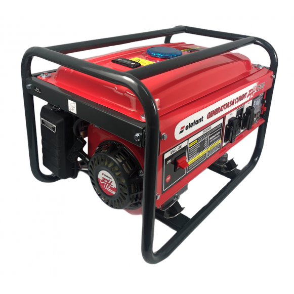 Generator pe Benzina Elefant ZH 2500, Monofazat, 2.2 kW, 230 V, 1 Cilindru, 4 timpi, Racire cu aer [0]