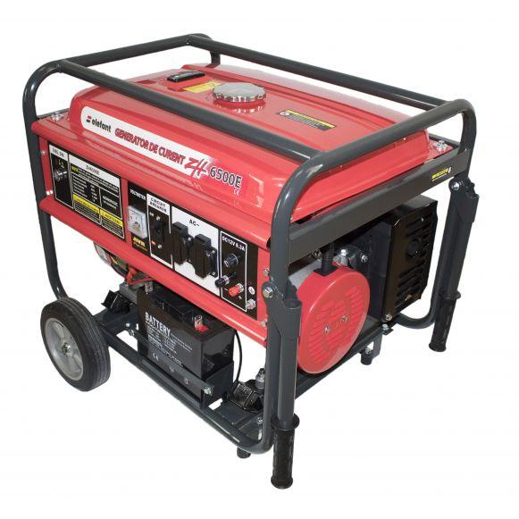 Generator pe Benzina Elefant ZH 6500E, Monofazat, 5,5 kW, 230 V, 1 Cilindru, 4 timpi, Racire cu aer, Pornire electrica [0]