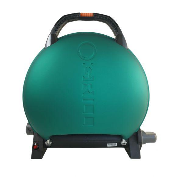 Gratarpentru Camping pe gaz O-Grill, Model 600, Verde, 3.2 kW, 1450 cm² [1]