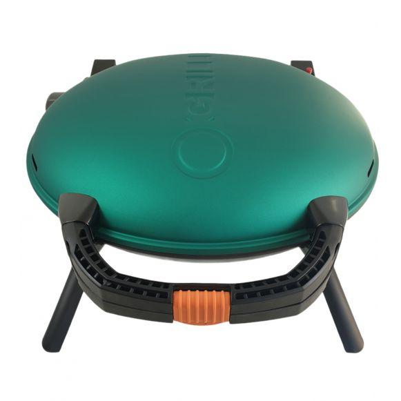 Gratarpentru Camping pe gaz O-Grill, Model 600, Verde, 3.2 kW, 1450 cm² [0]