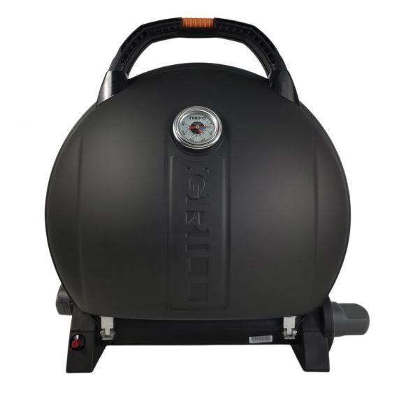 Gratar pe gaz O-Grill, pentru Camping, Model 900, Negru, 3.2 kW, 1450 cm² [1]