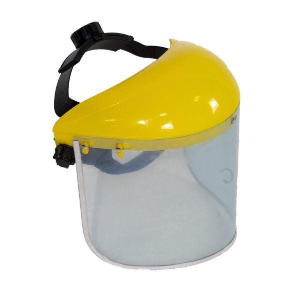 Masca universala transparenta FS001, Material pexiglas, Latime 400mm, Inaltime 200mm, Grosime 1mm, Carcasa plastic 2.5mm [0]