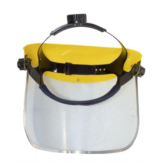 Masca universala transparenta FS001, Material pexiglas, Latime 400mm, Inaltime 200mm, Grosime 1mm, Carcasa plastic 2.5mm [1]