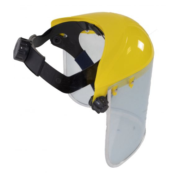 Masca universala transparenta FS001, Material pexiglas, Latime 400mm, Inaltime 200mm, Grosime 1mm, Carcasa plastic 2.5mm [2]
