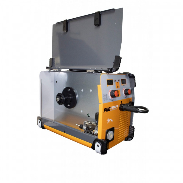 Invertor industrial MMA  MIG Procraft Germany SPI 320  Set cabluri si furtun MIG, 320 A [1]