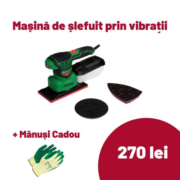 Masina de slefuit prin vibratii Status FS200A Italia, 200W, 14000-24000 SPM [0]