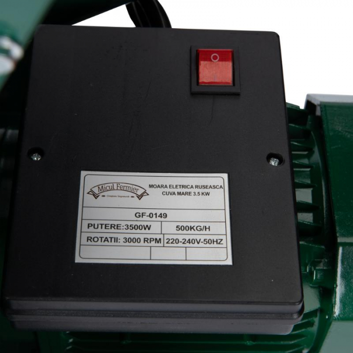 Moara electrica ruseasca cuva mare 3.5kw [2]
