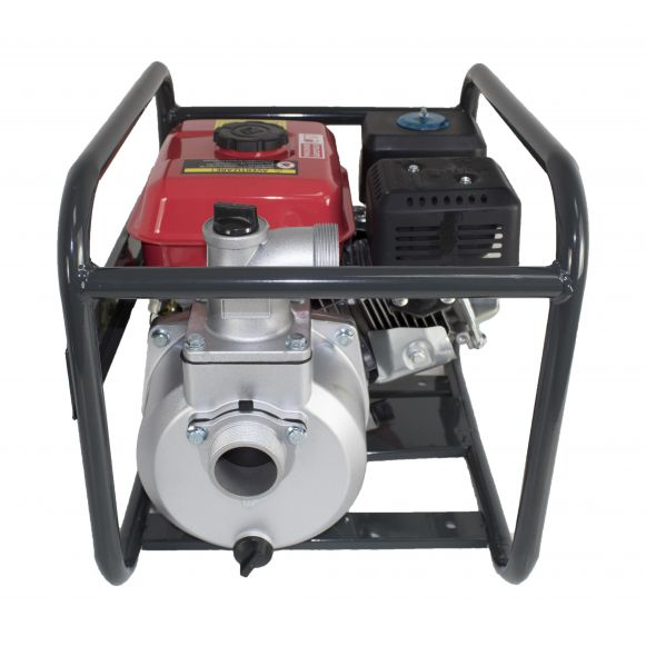 Motopompa, 6.5 CP, 2 Toli, 30 m cubi/H, motor 4 Timpi benzina, max 28 metri, Elefant WP30X [4]
