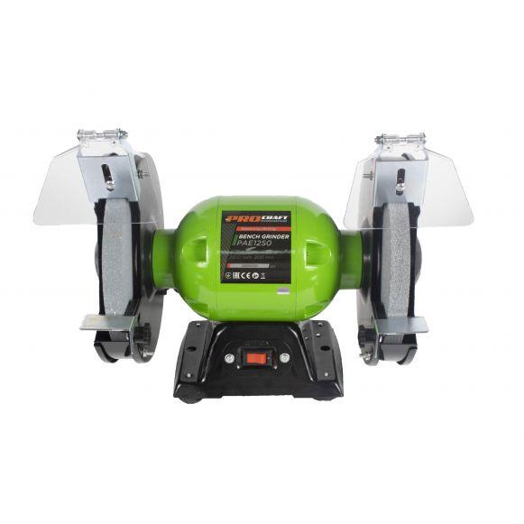 Polizor de banc Industrial PAE 1250, 200 mm, 1250 W, 2950 rpm, Procraft [3]