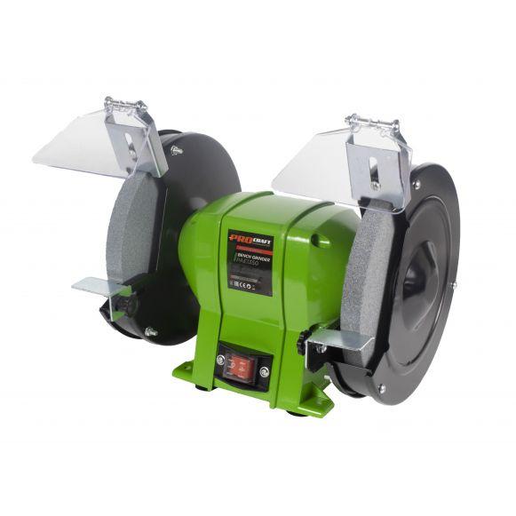 Polizor de banc Industrial PAE 1350, 200 mm, 1350 W, 2950 rpm, Procraft [0]