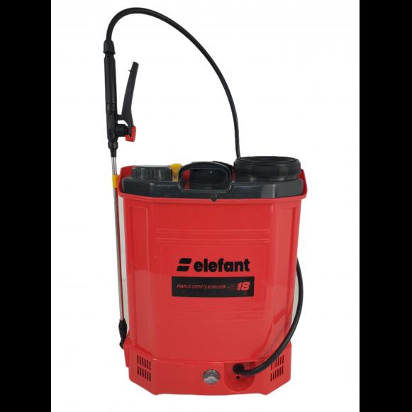 Pompa de stropit cu Acumulator Elefant SE18L, Volum 18l, 12V/8Ah, 3 tipuri de pulverizare [4]