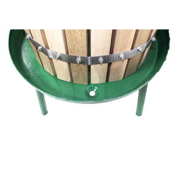 Presa / teasc struguri VIlen, 30 L, cu Filet, Lemn de stejar [2]