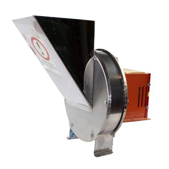 Zdrobitor Tip Razatoare electrica Vinita, 1.8 kw, Carcasa Inox, Legume si Fructe, Radacinoase, 1500 rpm [4]