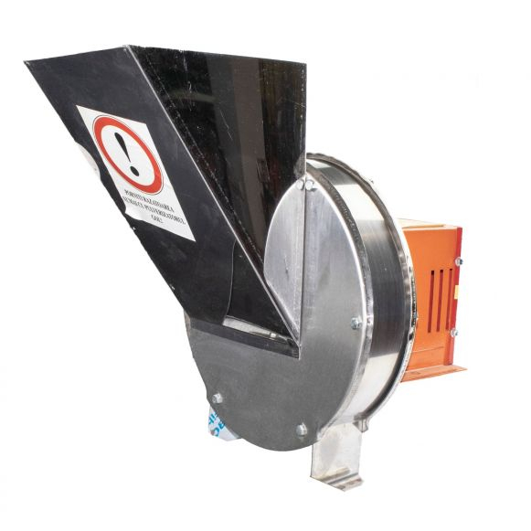 Zdrobitor Tip Razatoare electrica Vinita, 1.8 kw, Carcasa Inox, Legume si Fructe, Radacinoase, 1500 rpm [5]
