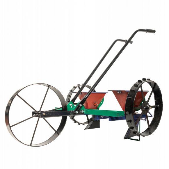 Semanatoare mecanica Vinita tip bicicleta cu Doua randuri, Ucraina, Varietate Larga de Sminte [1]